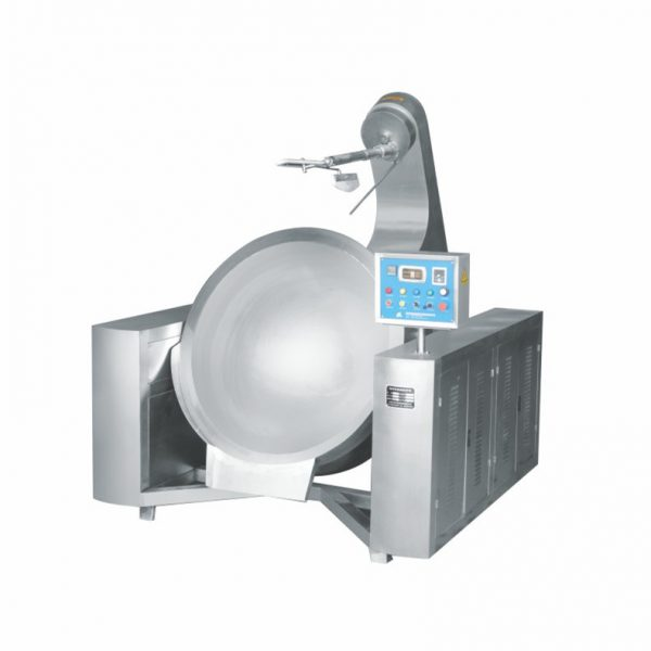 Automatic Induction Heating Jacketed Cooking Mixer
