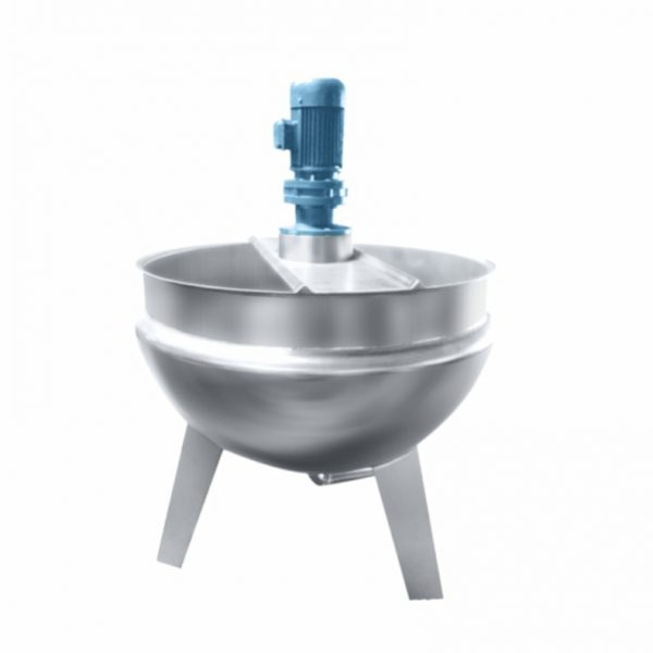 No-tilting Jacketed cooking mixer