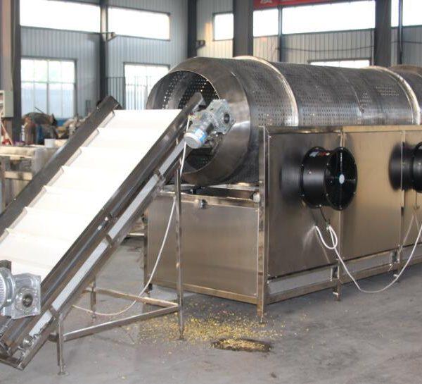 popcorn lifting and shifting machine